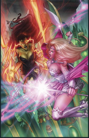 Grimm Fairy Tales: Oz - Reign of the Witch Queen #6 (Lilly Cover)