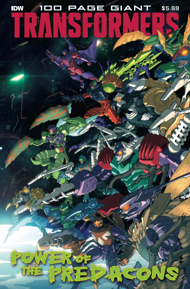 The Transformers 100 Page Giant: Power of the Predacons