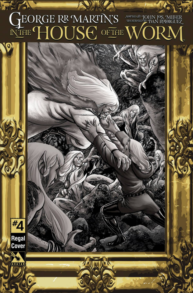 In the House of the Worm #4 (Regal Cover)