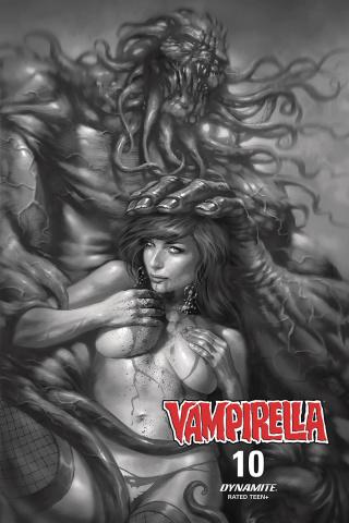 Vampirella #10 (10 Copy Parrillo B&W Cover)