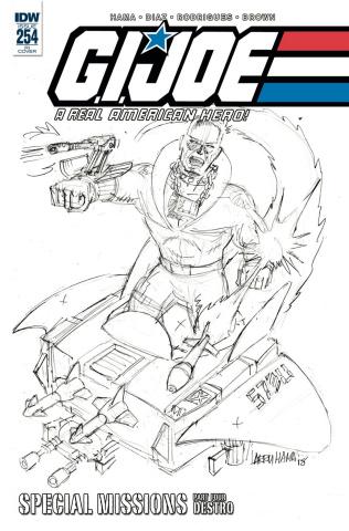G.I. Joe: A Real American Hero #254 (10 Copy Hama Cover)