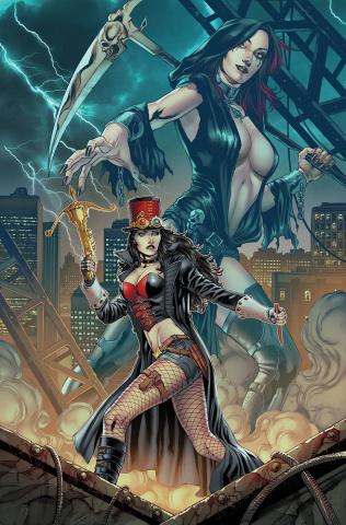 Van Helsing: Hellfire #1 (Vitorino Cover)