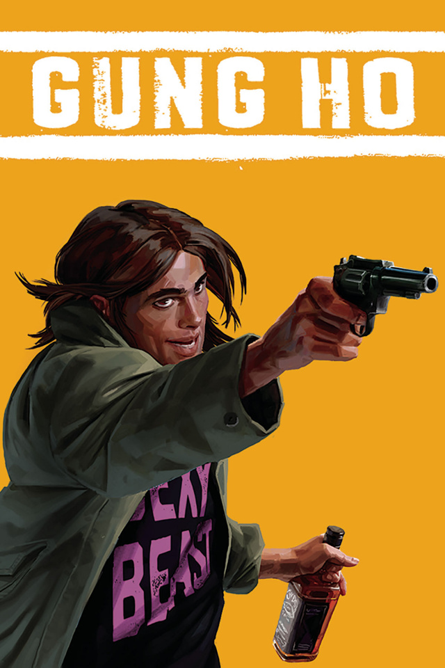 Gung-Ho #4 (Clarke Cover)