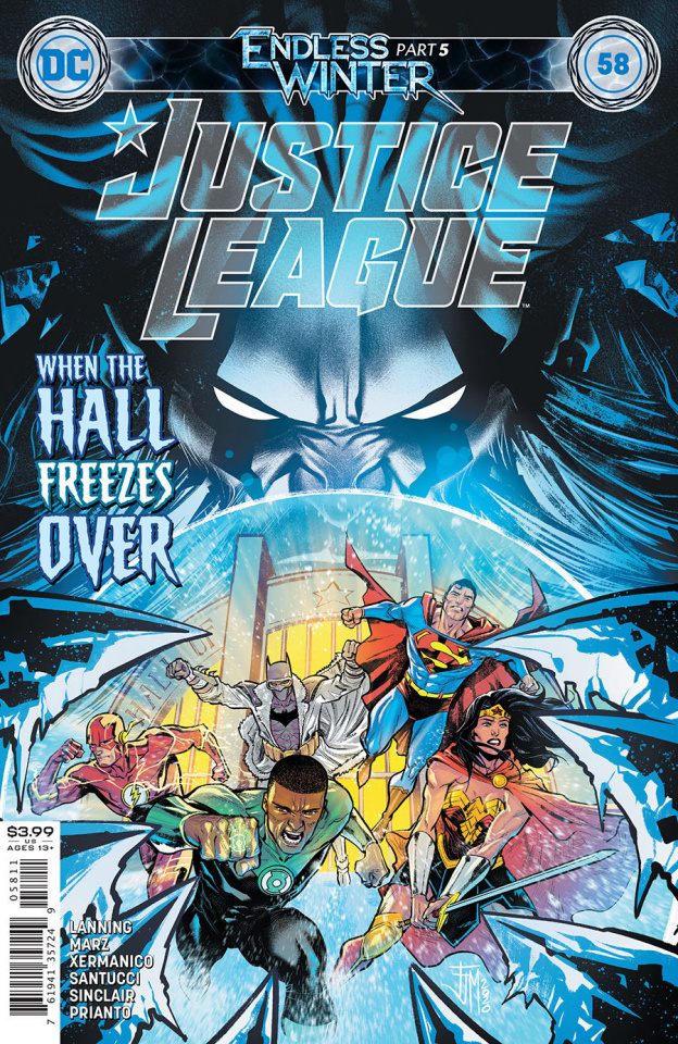 Justice League #58 (Francis Manapul Cover)
