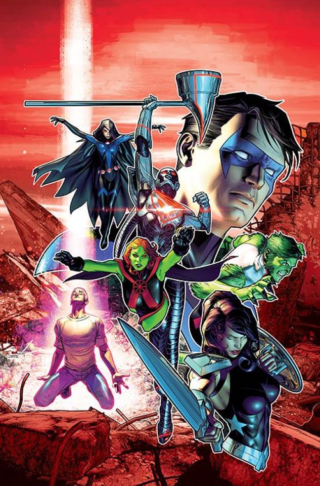 Titans #23 (2nd Printing)