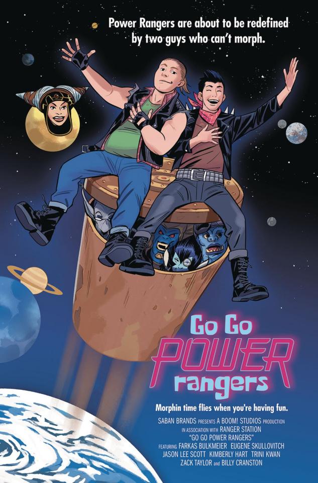 Go, Go, Power Rangers! #9 (25 Copy Bustos Cover)