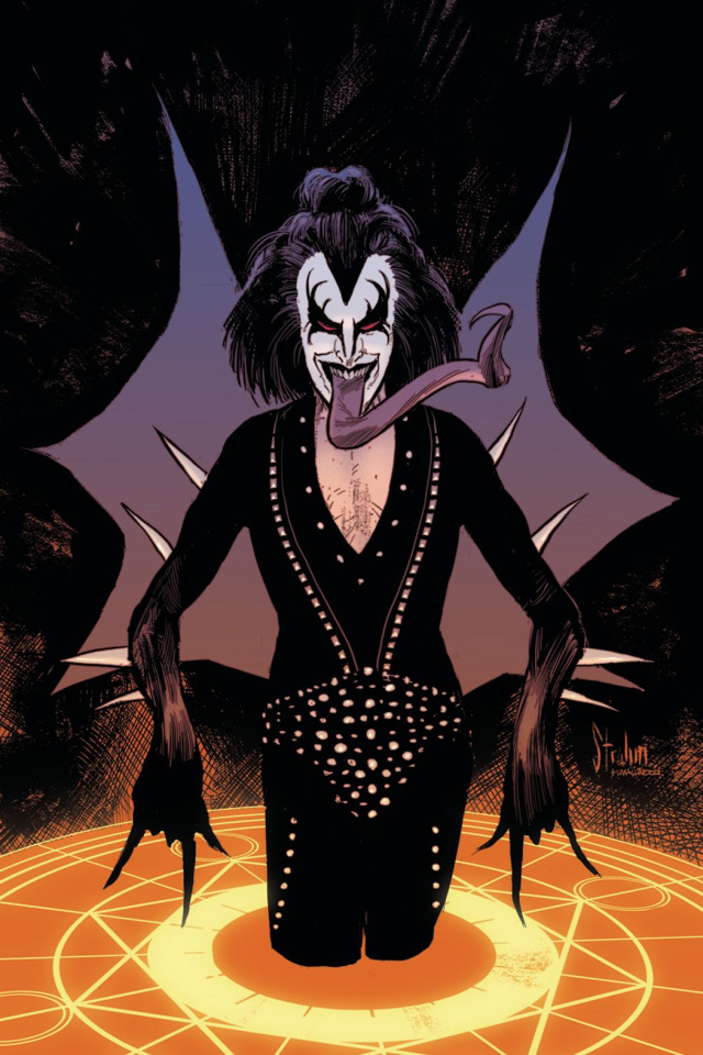KISS: The Demon #2 (25 Copy Strahm Virgin Cover)