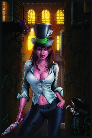 Grimm Fairy Tales: The Madness of Wonderland #1 (Krome Cover)