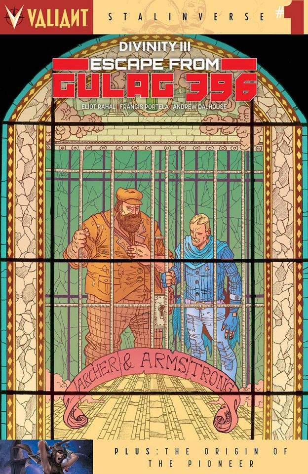 Divinity III: Escape From Gulag 396 #1 (Guinaldo Cover)