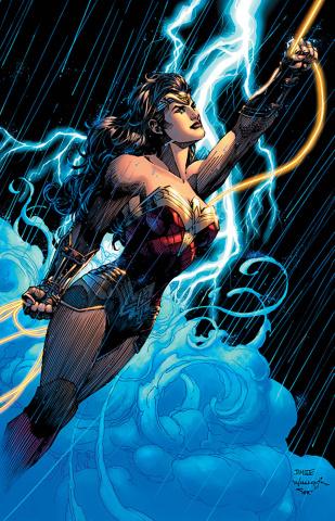Justice League #58 (Jim Lee Wonder Woman 1984 Card Stock Cover)