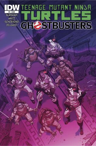 Teenage Mutant Ninja Turtles / Ghostbusters #2