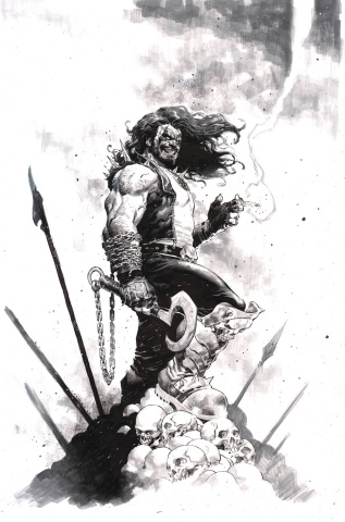 Dark Nights: Death Metal #2 (Jerome Opena Lobo Cover)