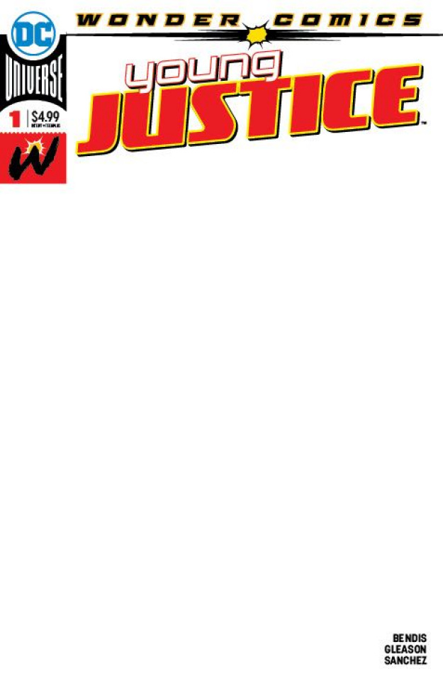 Young Justice #1 (Blank Cover)