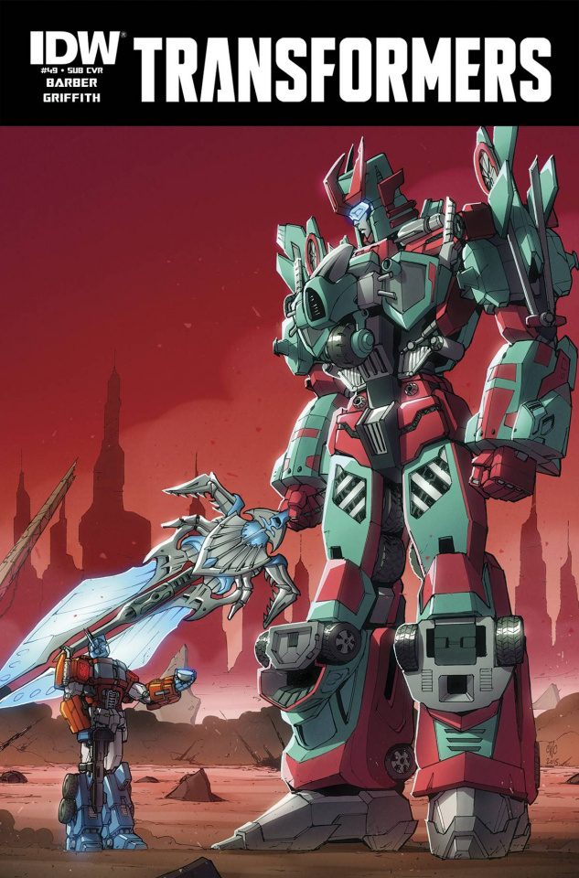 The Transformers #49 (Subscription Cover)