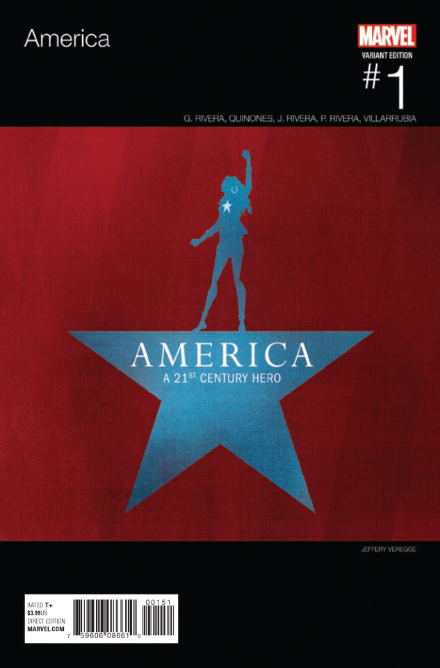 America #1 (Veregge Hip Hop Cover)
