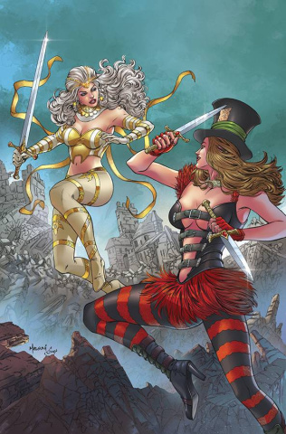 Grimm Fairy Tales: Wonderland #41 (Malsuni Cover)