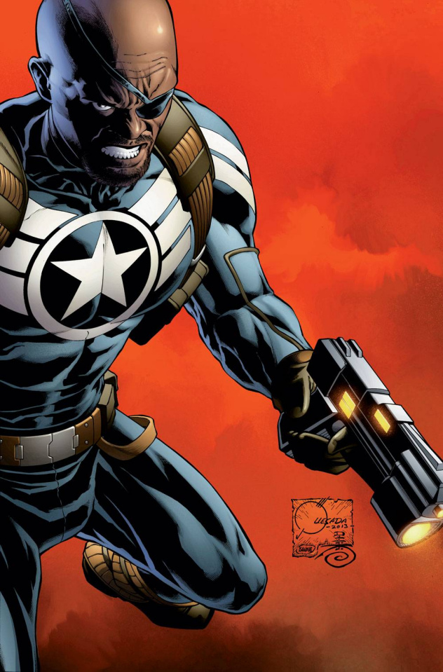 Secret Avengers #1 (Quesada Cover)