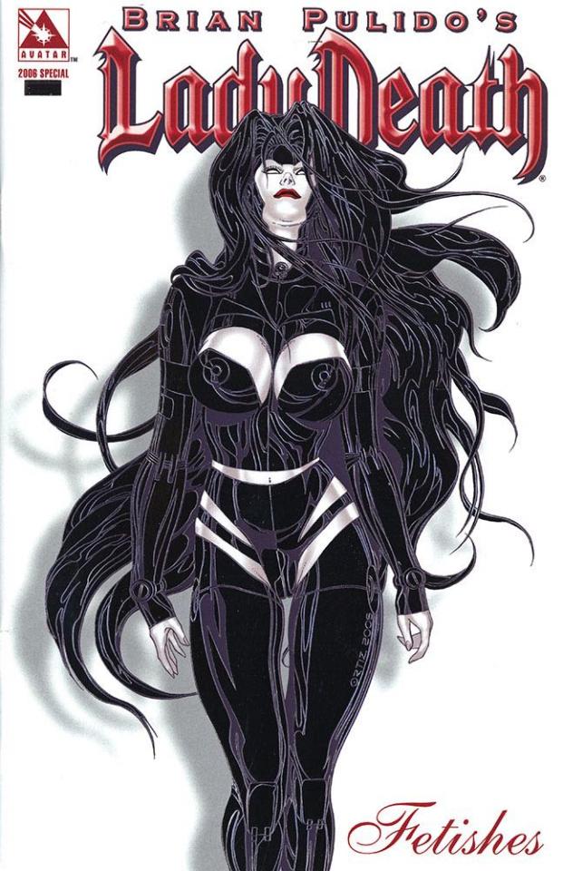 Lady Death: Fetishes (2006 Platinum Foil Cover)