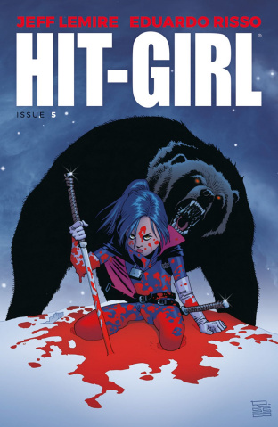 Hit-Girl #5 (Risso Cover)