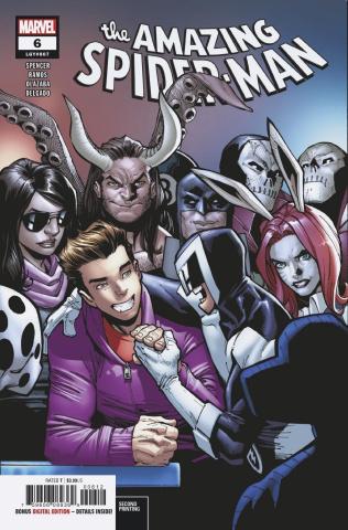 The Amazing Spider-Man #6 (Ramos 2nd Printing)