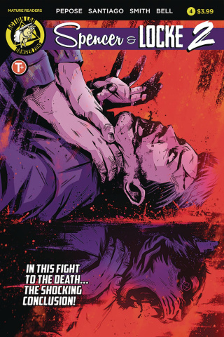 Spencer & Locke 2 #4 (House Cover)