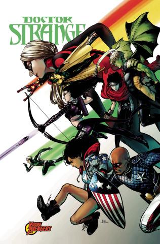 Doctor Strange #384 (Shirahama Avengers Cover)