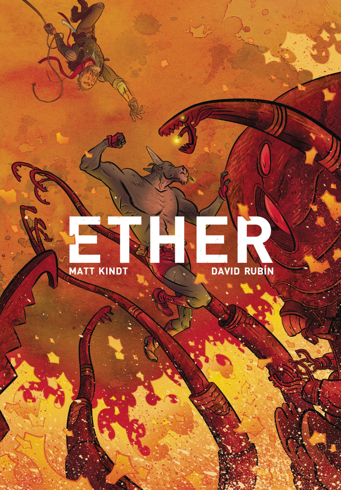 Ether: The Copper Golems #3 (Rubin Cover)
