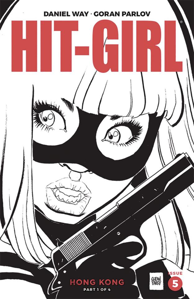 Hit-Girl, Season Two #5 (Parlov B&W Cover)