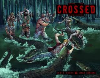 Crossed: Badlands #4 (Wrap Cover)