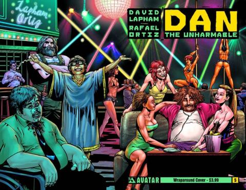 Dan the Unharmable #5 (Wrap Cover)