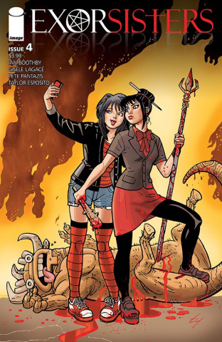 Exorsisters #4 (Templeton Cover)