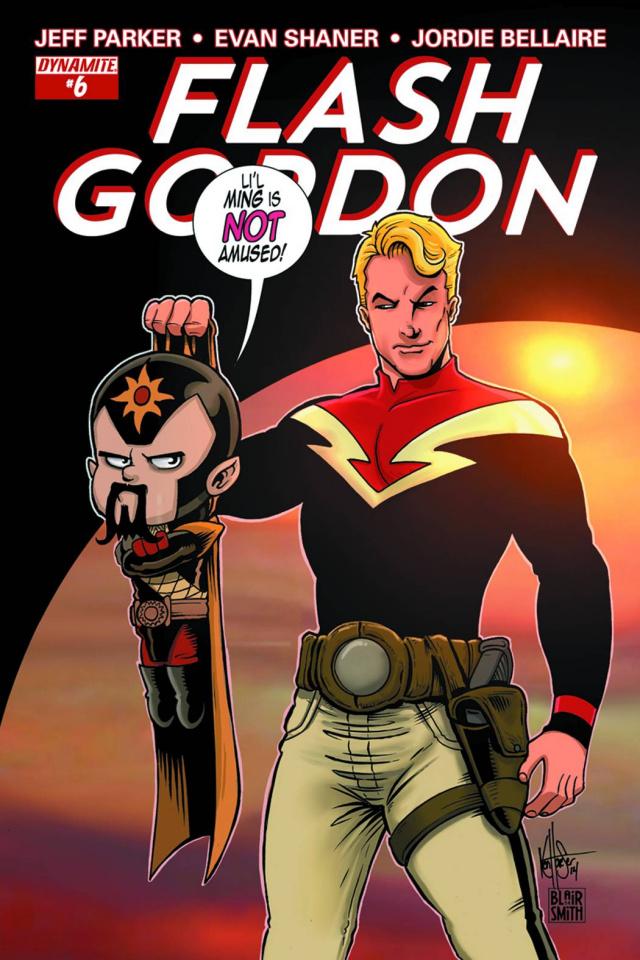 Flash Gordon #6 (Haeser Subscription Cover)
