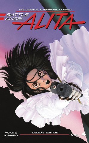 Battle Angel Alita Vol. 4 (Deluxe Edition)