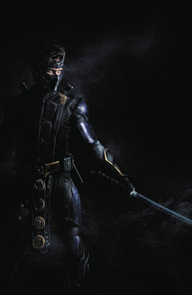 Rapture #1 (Ninjak vs. Valiant Universe Cover)