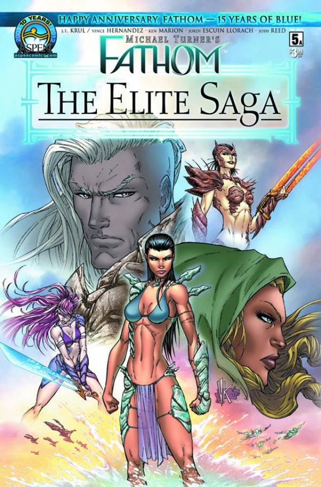 Fathom: The Elite Saga #5 (Marion Cover)