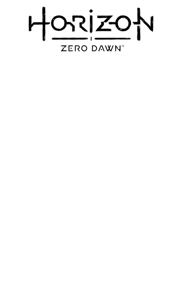 Horizon: Zero Dawn - Liberation #1 (Blank Sketch Cover)