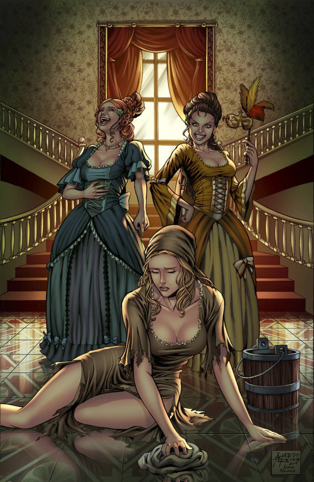 Grimm Fairy Tales: Cinderella #5 (Reyes Cover)