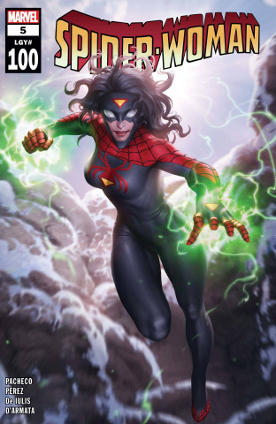Spider-Woman #5 (Junggeun Yoon Cover)
