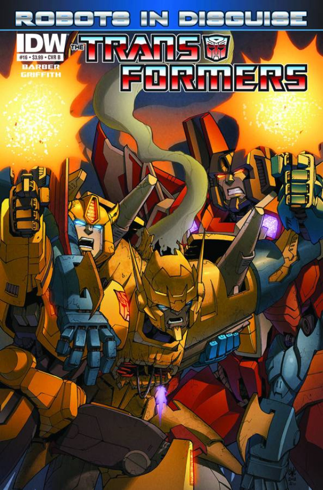 The Transformers: Robots in Disguise #16