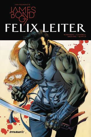 James Bond: Felix Leiter #4 (Perkins Cover)