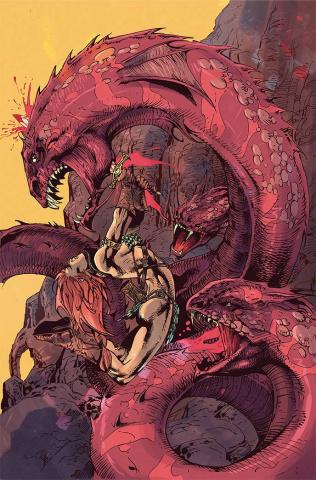 Red Sonja #22 (15 Copy Castro Virgin Cover)
