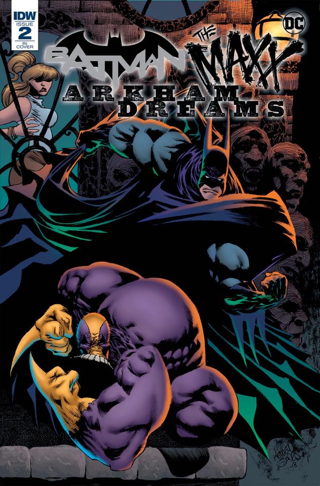Batman / The Maxx: Arkham Dreams #2 (10 Copy Jones Cover)