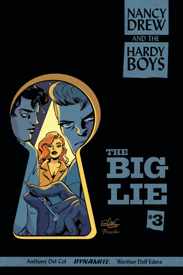 Nancy Drew and The Hardy Boys #3 (Charretier Cover)