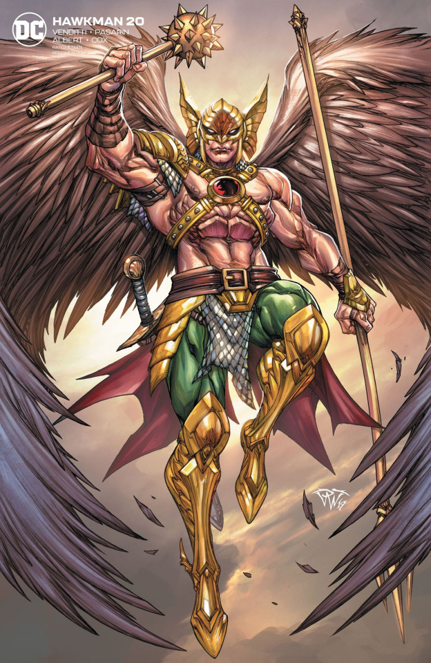 Hawkman #20 (Variant Cover)