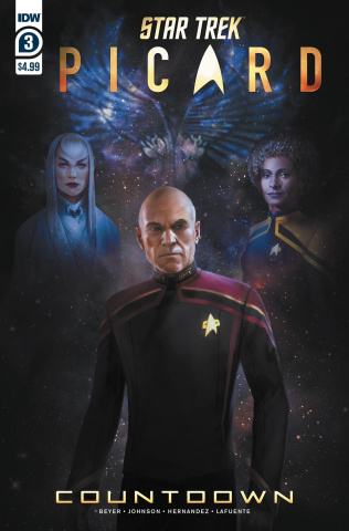Star Trek: Picard #3 (Pitre-Durocher Cover)