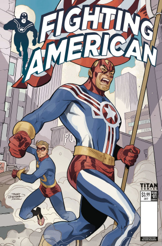 Fighting American #1 (Dodson Cover)