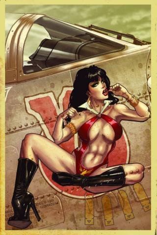 Vampirella #100 (Rare Poulat Virgin Bombshell Cover)