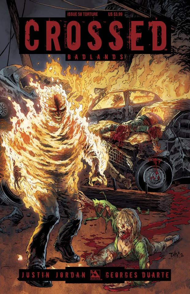 Crossed: Badlands #58 (Torture Cover)