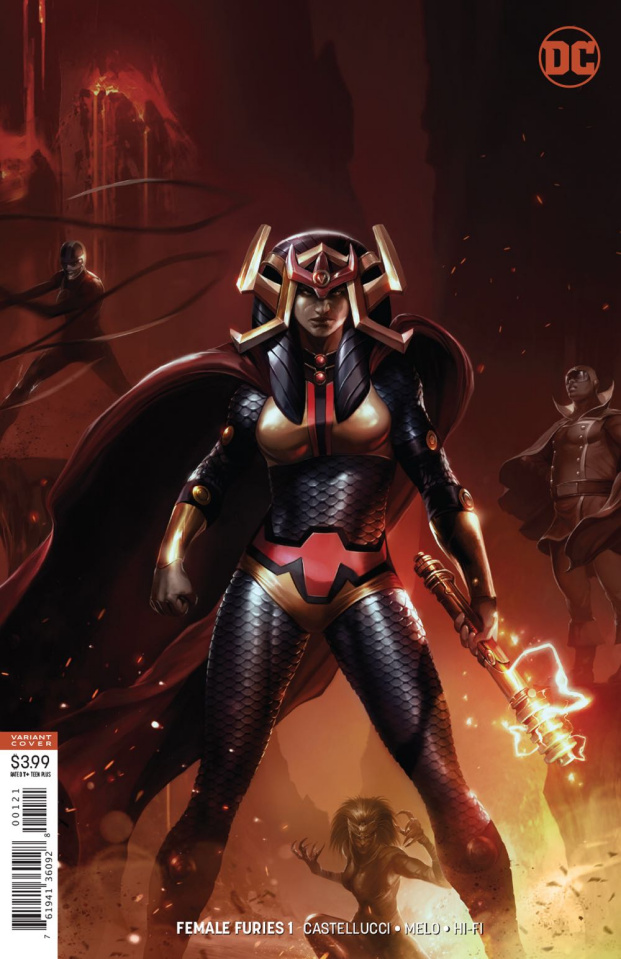 Female Furies #1 (Variant Cover)