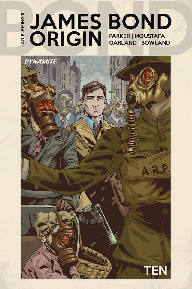 James Bond: Origin #10 (Tormey Cover)